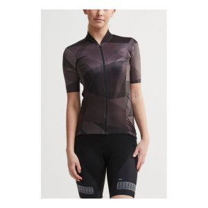 Womens Craft Hale Graphic Jersey Short Sleeve Technical Tops(M)