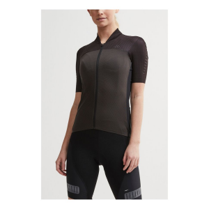 Womens Craft Hale Glow Jersey Short Sleeve Technical Tops(M)