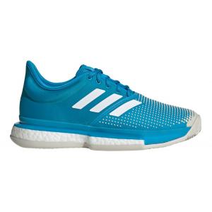 Womens adidas SoleCourt Boost Clay Court Shoe(6.5)