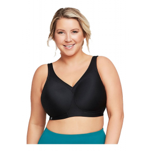 Womens Glamorise MagicLift Seamless Sport Everyday Bras(36B)