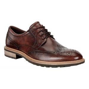 Mens Ecco Vitrus I Wingtip Tie Casual Shoe