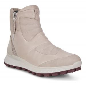 Womens Ecco Exostrike Hydromax Primoloft Side Zip Winter Boot Hiking Shoe