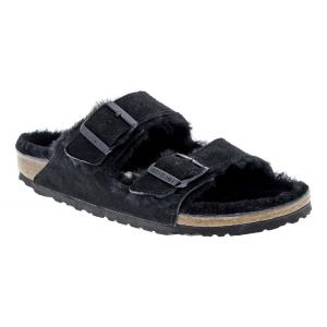 Womens Birkenstock Arizona Shearling Sandals Shoe