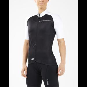 Womens 2XU Elite Cycle Jersey Short Sleeve Technical Tops