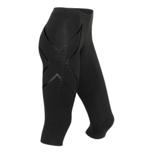 Womens 2XU Elite MCS Thermal Compression 3/4 Tights Capris Pants