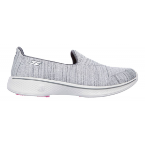 Womens Skechers GO Walk 4 Satisfy Casual Shoe