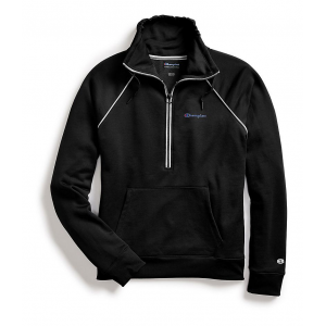 Womens Champion Phys Ed 1/2 Zip Pullover Half-Zips and Hoodies Technical Tops