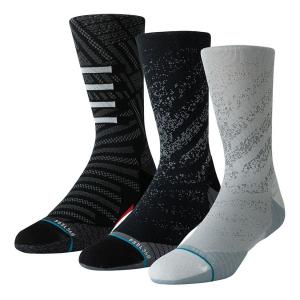 Mens Stance RUN Crew Socks 3 pack