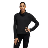 Womens Adidas Cozy Cover Up Long Sleeve Technical Tops(M)