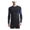 Mens Craft Fuseknit Comfort Blocked Run Long Sleeve Technical Tops(XL)