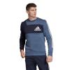 Mens Adidas Sport ID Crew Short Sleeve Technical Tops(XL)