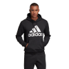 Mens Adidas Must Haves Badge of Sport Fleece Pullover Long Sleeve Technical Tops(M)