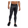 Mens Adidas Alphaskin Camo Long Tights & Leggings(L)