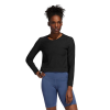 Womens Adidas Mesh Coverup Long Sleeve Technical Tops(M)