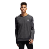 Mens Adidas Own The Run Crew Long Sleeve Technical Tops(M)