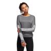 Womens Adidas Response Crew Long Sleeve Technical Tops(M)