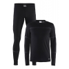 Mens Craft Base layer Set Long Sleeve Technical Tops(M)