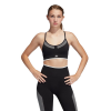 Womens Adidas All Me Primeknit Flow Sports Bras(L)