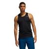 Mens Adidas Runner Singlet Sleeveless & Tank Technical Tops(XL)