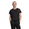 Womens Adidas ID Mesh Tee Short Sleeve Technical Tops(M)
