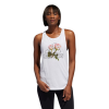 Womens Adidas Floral Essentials Sleeveless & Tank Technical Tops(M)