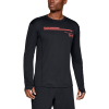 Mens Under Armour Simple Run Graphic Long Sleeve Technical Tops(L)