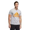 Mens Adidas Graphic Amp Tee Short Sleeve Technical Tops(3XL)