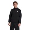 Mens Adidas Must Haves 3 Stripe Half-Zips & Hoodies Technical Tops(L)