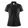 Womens Craft Polo Shirt Pique Classic Short Sleeve Technical Tops