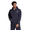 Mens Adidas Must Haves 3 Stripe Full Zip Half-Zips & Hoodies Technical Tops