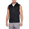 Mens Under Armour Fleece Sleeveless Full Zip Half-Zips and Hoodies Technical Tops