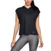 Womens Under Armour Essentials Burnout Hoodie Half-Zips & Hoodies Technical Tops