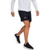 "Mens Under Armour Qualifer Speedpocket 7"" Lined Shorts"