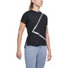 Womens Under Armour Essentials Tee Triangle Short Sleeve Technical Tops