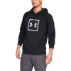 Mens Under Armour Rival Fleece Logo Half-Zips and Hoodies Technical Tops