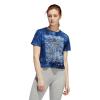 Womens Adidas Parley Essentials Tee Short Sleeve Technical Tops