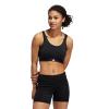 Womens Adidas Don't Rest 3 Stripe Sports Bras