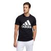 Mens Adidas Basic Badge of Sport Tee Short Sleeve Technical Tops