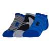 Under Armour Kids Next 2.0 Solo No Show 3 pack Socks
