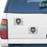 """Fanatics New Mexico Lobos 5"""" x 6"""" Rectangular 2-pack Car Magnet Set"""
