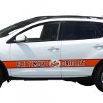 Fanatics Baltimore Orioles Team Ball Racing Stripe Car Decals