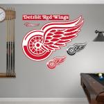 Fanatics Detroit Red Wings Team Logo Fathead Wall Sticker