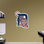 Fanatics Detroit Tigers Fathead Team Logo Wall Decal