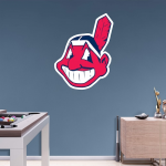Fanatics Cleveland Indians Fathead Team Logo Wall Decal