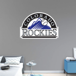 Fanatics Colorado Rockies Fathead Team Logo Wall Decal