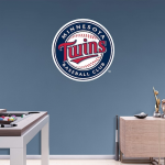 Fanatics Minnesota Twins Fathead Team Logo Wall Decal