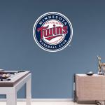 Fanatics Minnesota Twins Fathead Team Logo Wall Decal