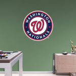 Fanatics Washington Nationals Fathead Team Logo Wall Decal