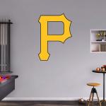Fanatics Pittsburgh Pirates Fathead Team Logo Wall Decal