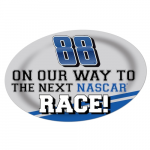 "Fanatics Dale Earnhardt Jr. 13"" x 19"" Jumbo Race Day Peel & Stick Decal"